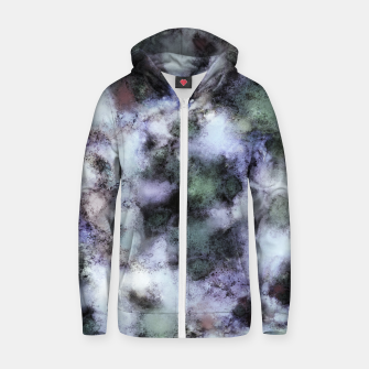 Miniature de image de The soft and the static Cotton zip up hoodie, Live Heroes