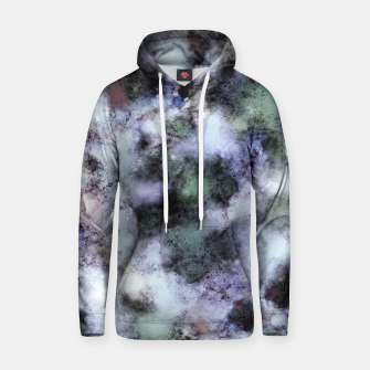 Thumbnail image of The soft and the static Cotton hoodie, Live Heroes