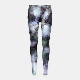 Thumbnail image of The soft and the static Girl's leggings, Live Heroes