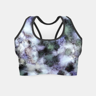Thumbnail image of The soft and the static Crop Top, Live Heroes