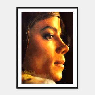 Miniatur The King of Pop Framed poster, Live Heroes