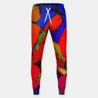 Thumbnail image of Alligator red glow Cotton sweatpants, Live Heroes