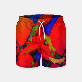 Miniature de image de Alligator red glow Swim Shorts, Live Heroes