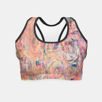 Thumbnail image of Hanging Out in Palma Crop Top, Live Heroes
