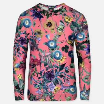 Surreal Floral Cotton sweater obraz miniatury