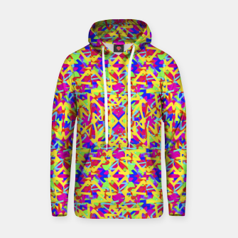 Thumbnail image of Multicolored Linear Pattern Design Cotton hoodie, Live Heroes