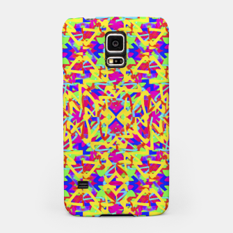 Thumbnail image of Multicolored Linear Pattern Design Samsung Case, Live Heroes