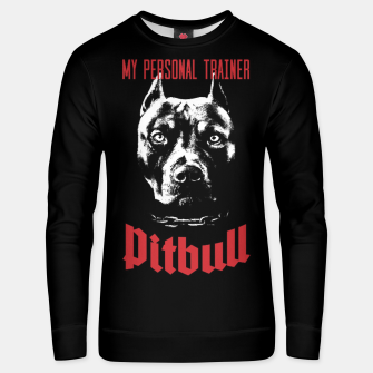 Thumbnail image of Pitbull My Personal Trainer Cotton sweater, Live Heroes