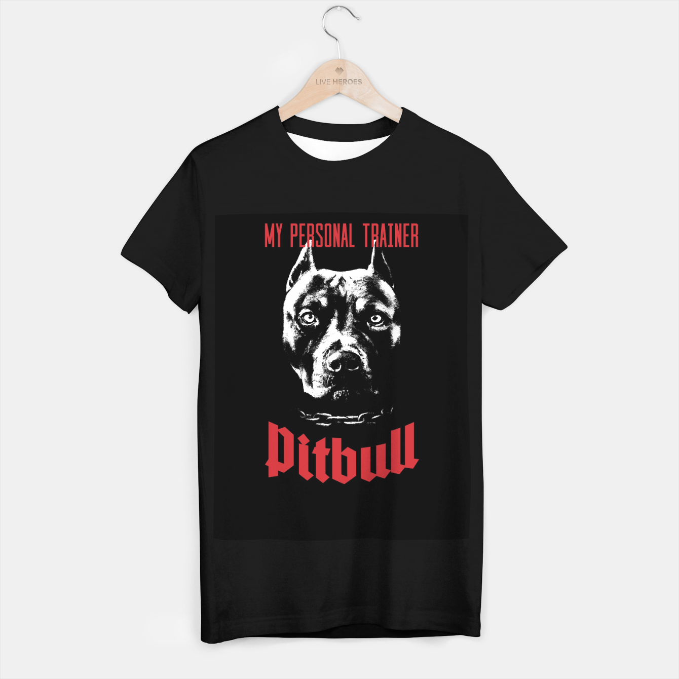 Image of Pitbull My Personal Trainer T-shirt regular - Live Heroes