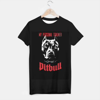 Thumbnail image of Pitbull My Personal Trainer T-shirt regular, Live Heroes