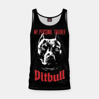 Pitbull My Personal Trainer Tank Top thumbnail image