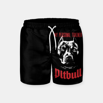 Thumbnail image of Pitbull My Personal Trainer Swim Shorts, Live Heroes