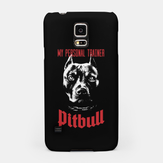 Pitbull My Personal Trainer Samsung Case thumbnail image