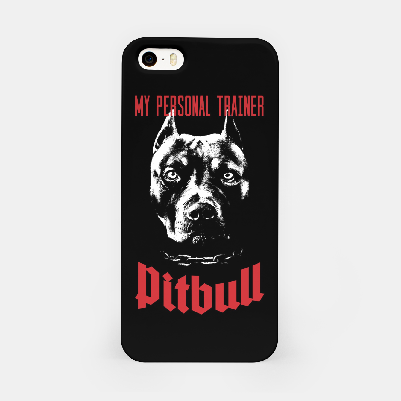 Image of Pitbull My Personal Trainer iPhone Case - Live Heroes
