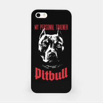 Thumbnail image of Pitbull My Personal Trainer iPhone Case, Live Heroes