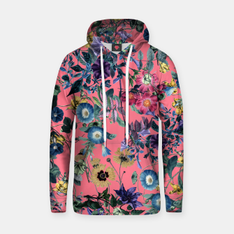 Miniatur Surreal Floral Cotton hoodie, Live Heroes