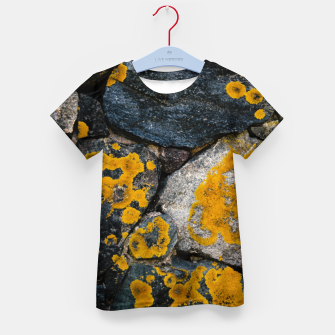 Thumbnail image of Stone wall Kid's t-shirt, Live Heroes