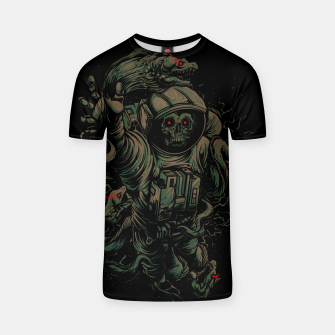 Miniature de image de Space-Zombie in the Water T-shirt, Live Heroes