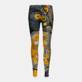 Thumbnail image of Stone wall Girl's leggings, Live Heroes
