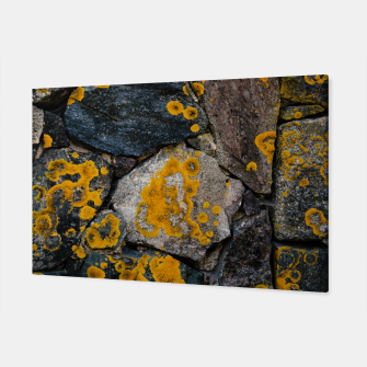 Miniatur Stone wall Canvas, Live Heroes