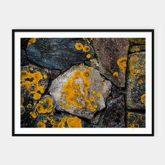 Miniatur Stone wall Framed poster, Live Heroes