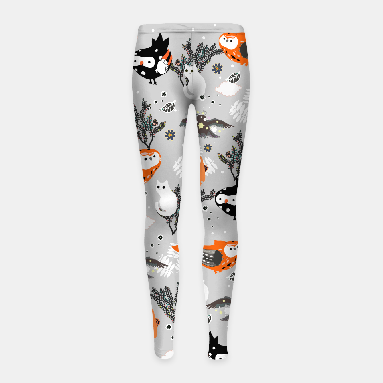 Image of Romantic Friends Girl's leggings - Live Heroes