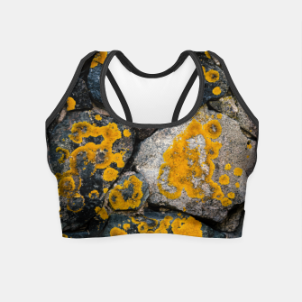 Thumbnail image of Stone wall Crop Top, Live Heroes