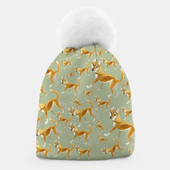 Thumbnail image of Ginger Dingo pattern Gorro, Live Heroes