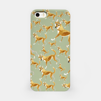 Thumbnail image of Ginger Dingo pattern Carcasa por Iphone, Live Heroes