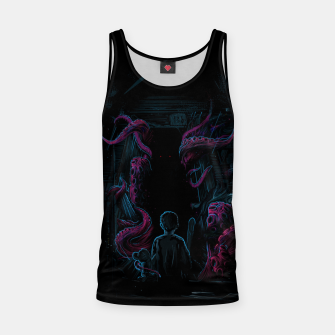 Miniature de image de Monster in my Room Tank Top, Live Heroes
