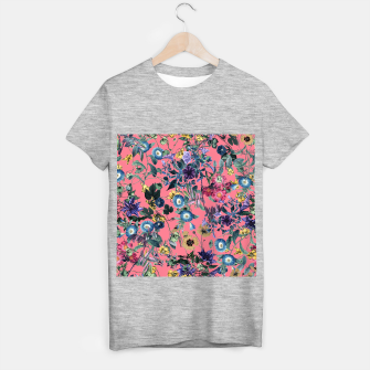 Surreal Floral T-shirt regular Bild der Miniatur