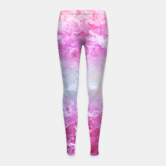 Thumbnail image of Enigmatic Pink Purple Blue Marble #1 #decor #art Kinder-Leggins, Live Heroes