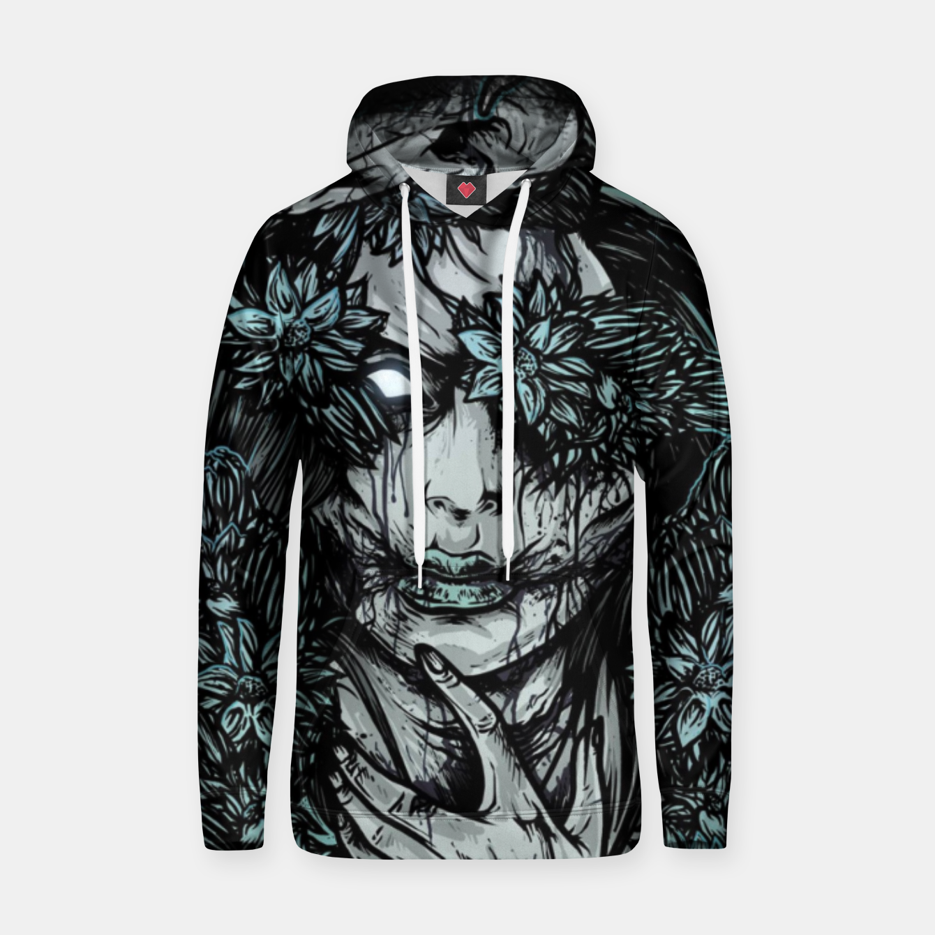Image of Zombie Girl Cotton hoodie - Live Heroes