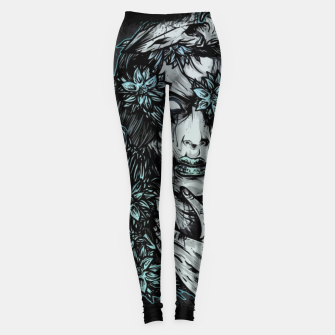 Thumbnail image of Zombie Girl Leggings, Live Heroes