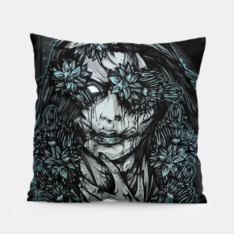 Thumbnail image of Zombie Girl Pillow, Live Heroes