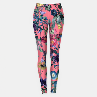 Miniaturka Surreal Floral Leggings, Live Heroes