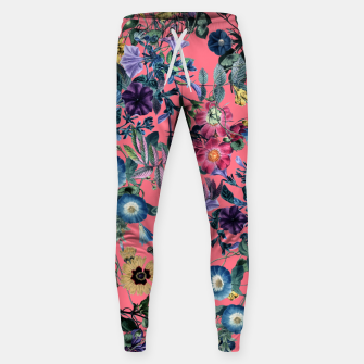 Surreal Floral Cotton sweatpants Bild der Miniatur