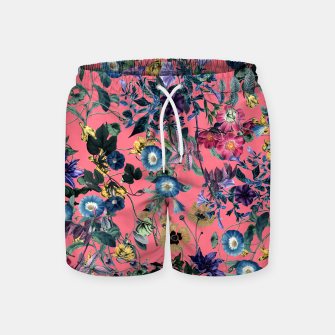Surreal Floral Swim Shorts Bild der Miniatur