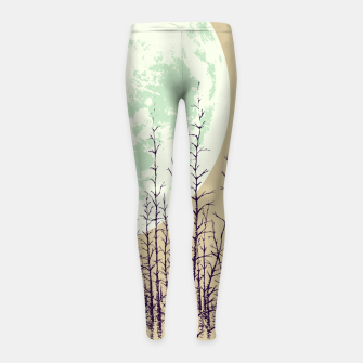 Miniature de image de Travelers Girl's leggings, Live Heroes