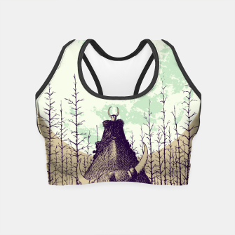 Thumbnail image of Travelers Crop Top, Live Heroes