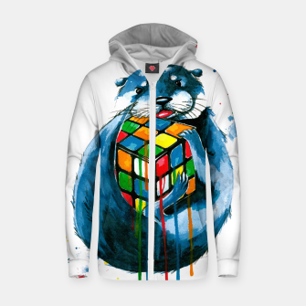 Thumbnail image of let's play anotter game Cotton zip up hoodie, Live Heroes