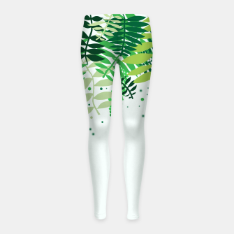 Thumbnail image of Summer Sounds Girl's leggings, Live Heroes