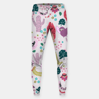 Thumbnail image of Owl Forest Cotton sweatpants, Live Heroes