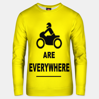Miniaturka Motorcycles Are Everywhere Cotton sweater, Live Heroes