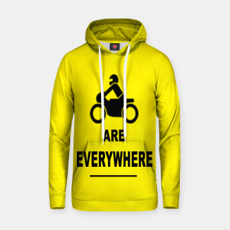 Miniatur Motorcycles Are Everywhere Cotton hoodie, Live Heroes