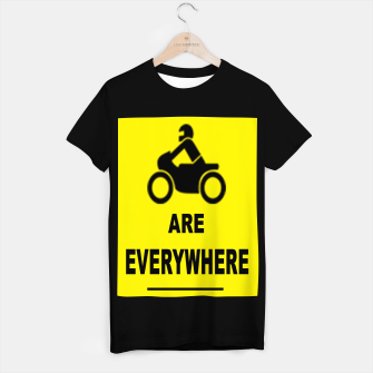 Miniature de image de Motorcycles Are Everywhere T-shirt regular, Live Heroes