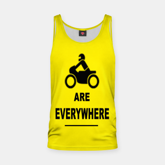 Miniatur Motorcycles Are Everywhere Tank Top, Live Heroes