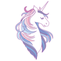 U are Unicorn logo