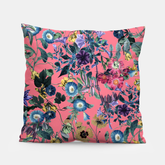 Miniatur Surreal Floral Pillow, Live Heroes