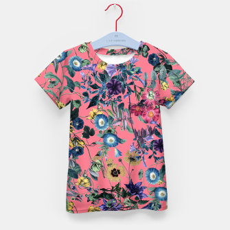 Thumbnail image of Surreal Floral Kid's t-shirt, Live Heroes